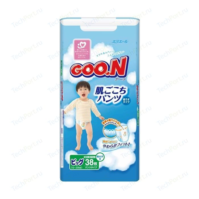 снижение цен на подгузники и подгузники-трусики Goon