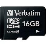 Verbatim microSDHC 16Gb Class10 (44010)