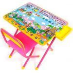 """Дэми """"Лимпопо"""" мягкий чехол на стул (розовый)"""