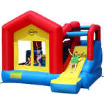 "Надувной батут Happy Hop ""Climb and Slide Bouncy House"" 9064N"