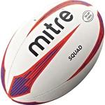 Купить Мяч для регби Mitre Squad, арт. BB2104WP4, р. 5, бело-сине-красный