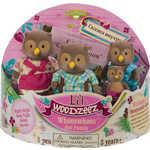 Li'l Woodzeez Семейка Сов в наборе с книжкой (4шт) 6007Q