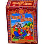 Купить Русский стиль Набор Кукольный театр ''Козлята и волк'' 5 персонажей (Волк,коза,три козленка)(в маленькой коробке) 11251н