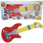 Купить Simba Музыкальная гитара на батарейках, свет, звук 43,5 см 4010529*