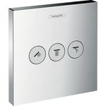Купить Переключатель внешняя часть Hansgrohe Showerselect на 3 потребителя (15764000)