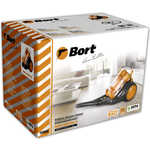 Пылесос Bort BSS-1800N-O Multicyclone Orange+Black
