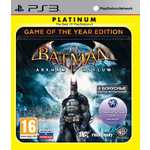 Игра для PS3  Batman Arkham Asylum Game of the Year Edition (PS3, английская версия)