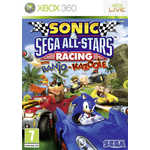 Игра для Xbox 360  Sonic and SEGA All-Stars Racing (Xbox 360, английская версия)