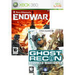 Игра для Xbox 360  Tom Clancy's Ghost Recon Advanced Warfighter 2 + End War (Xbox 360, английская версия)