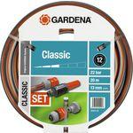 """Gardena 1/2"""" (13мм) 20м с комплектом фитингов Classic (18004-20.000.00)"""