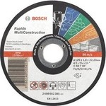 Диск отрезной Bosch 125х22.2х1.0мм Rapido Multi Construction (2.608.602.385)