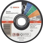 Диск отрезной Bosch 125х22.2х1.6мм Rapido Multi Construction (2.608.602.383)