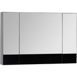 Купить Зеркальный шкаф Aquanet Верона 100 черный (камерино) (175386)