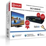 Тюнер DVB-T2 D-Color DC1002HD