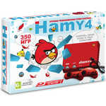 Игровая приставка Sega Sega - Dendy Hamy 4 350-in-1 Angry Birds Red