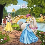 Фотообои Disney Edition 1 Princess (1-454)