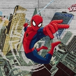 Фотообои MARVEL Spider-Man Concrete 368 х 254см.