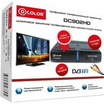 Тюнер DVB-T2 D-Color DC902HD