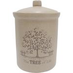 Купить Банка для сыпучих продуктов (маленькая) Terracotta Дерево жизни (TLY301-4-TL-AL)