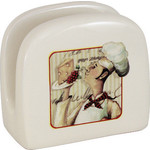Купить Салфетница Terracotta Шеф-повар (TLY928-CHEF-AL)