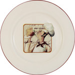 Купить Тарелка обеденная Terracotta Шеф-повар (TLY802-1-CHEF-AL)