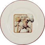 Купить Тарелка закусочная Terracotta Шеф-повар (TLY802-2-CHEF-AL)