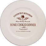 Купить Тарелка закусочная Terracotta Кухня в стиле Кантри (TLY802-2-CK-AL)