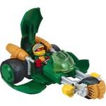 Playmates Черепашки-ниндзя 6см Раф с мотоциклом-стелс серия Half Shell Hero (96754)