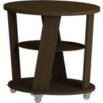Купить Журнальный стол MetalDesign Смарт MD 736.02.02 корпус-венге/ стекло-венге