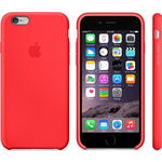 Чехол Apple iPhone 6 Silicone Case Red