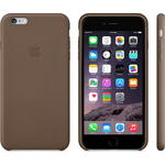 Чехол Apple iPhone 6 Plus Leather Case Olive Brown