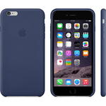Чехол Apple iPhone 6 Plus Leather Case Midnight Blue