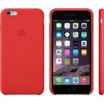 Чехол Apple iPhone 6 Plus Leather Case Bright Red