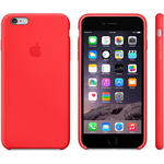 Чехол Apple iPhone 6 Plus Silicone Case Red