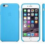 Чехол Apple iPhone 6 Plus Silicone Case Blue