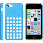 Чехол Apple iPhone 5c Case Blue (MF035ZM/A)