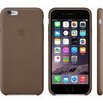 Чехол Apple iPhone 6 Leather Case Brown (MGR22ZM/A)