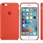 Чехол Apple iPhone 6-6s Silicone Case Orange (MKY62ZM/A)