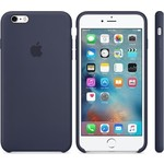 Чехол Apple iPhone 6-6s Silicone Case Midnight Blue (MKY22ZM/A)