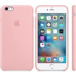 Чехол Apple iPhone 6-6s Silicone Case Pink (MLCU2ZM/A)