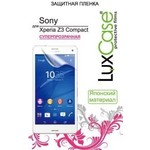 Защитная пленка LuxCase для Sony Xperia Z3 Compact (Прозрачная)