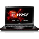 "Ноутбук MSI GE72 6QC-012RU 17.3"" Black (9S7-179554-012)"