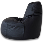 Кресло-мешок Bean-bag Comfort black экокожа
