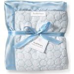 Плед SwaddleDesigns Pastel Blue Puff Circles (SD-311PB)