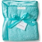 Плед SwaddleDesigns Turquoise Puff Circles (SD-311TQ)