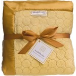 Плед SwaddleDesigns Gold Puff Circles (SD-311GL)