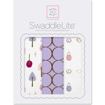 Набор пеленок SwaddleDesigns SwaddleLite Cute and Calm Lavender (SD-441L)