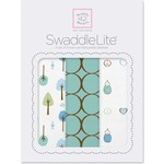 Набор пеленок SwaddleDesigns SwaddleLite Cute and Calm SeaCrystal (SD-441SC)
