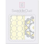 Набор пеленок SwaddleDesigns Swaddle Duo Yellow Mod Medallion (SD-358Y)