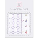 Набор пеленок SwaddleDesigns Swaddle Duo L Peace/LV/SW (SD-187L)